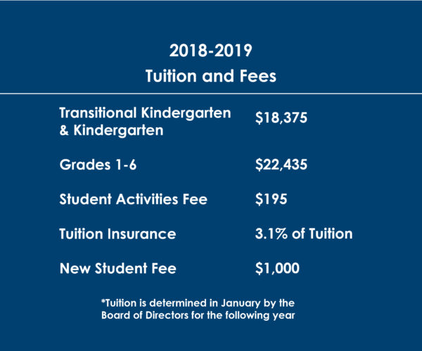 2018-2019 Tuition and Fees